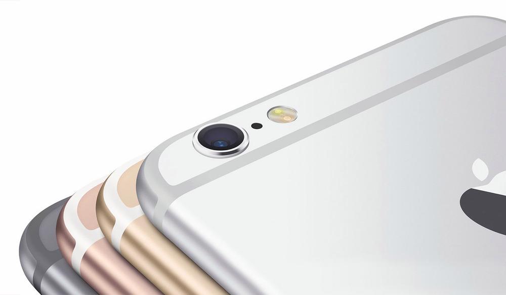 아이폰 6s에는 기존 색상 외에 로즈 골드가 추가될 예정이다. (예상 렌더 이미지)