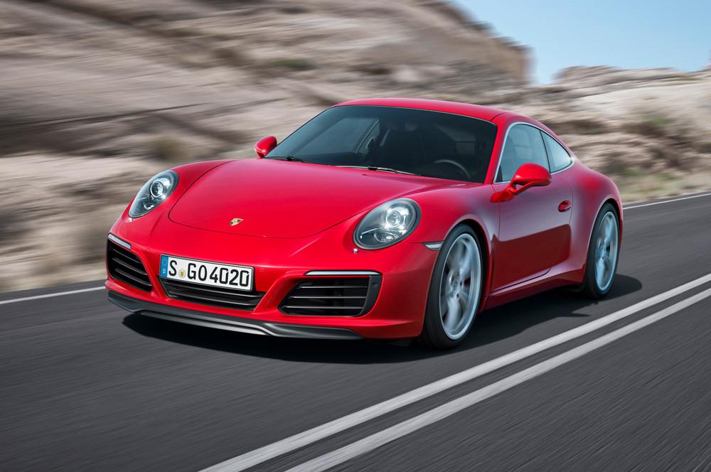 신형 포르쉐 911 (포르쉐 보도자료)