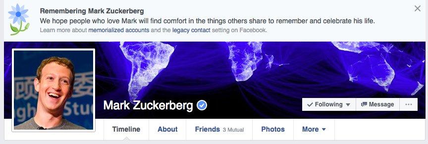 마크 저커버그도 페이스북의 학살 버그를 피해갈 순 없었습니다.