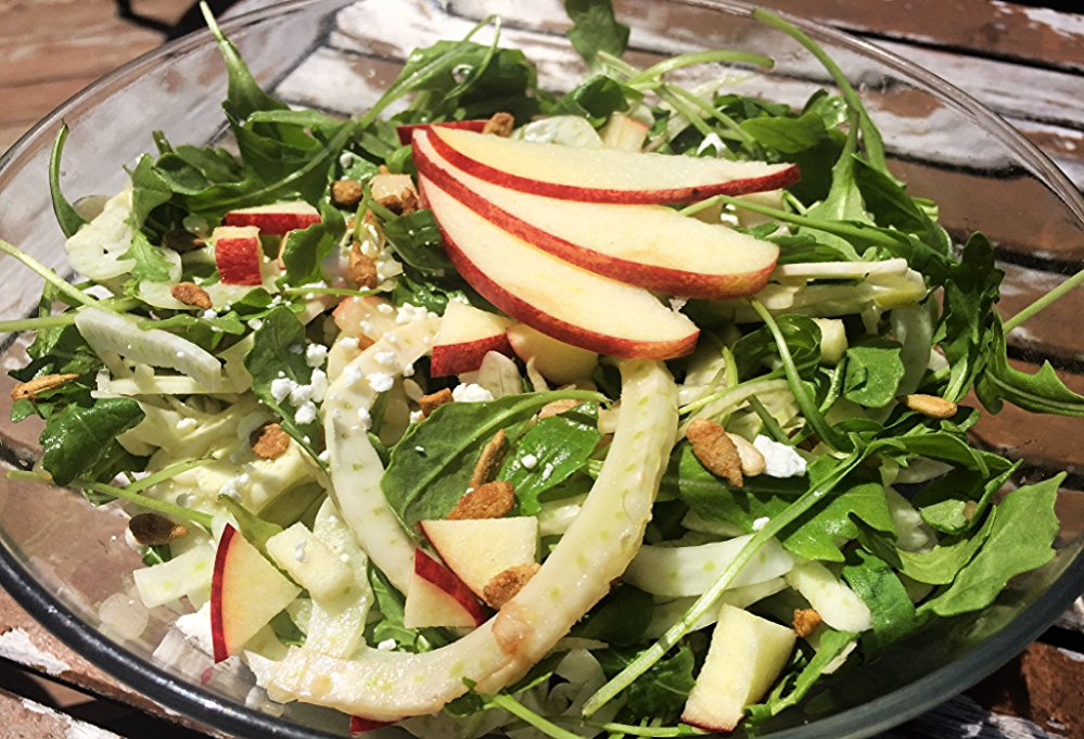 applesunflowerfennelsalad