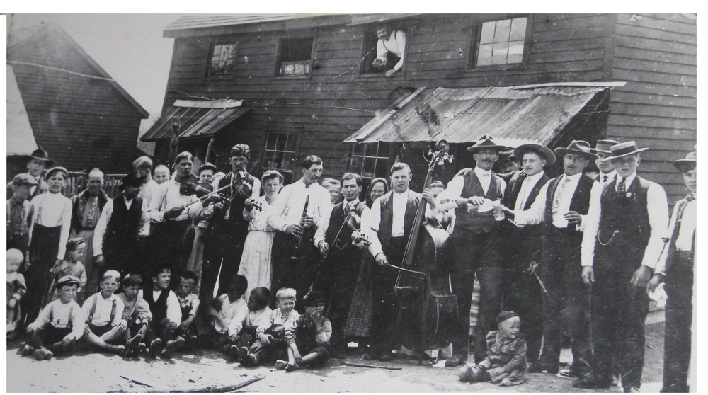 Ruthenian wedding in Forestville, Pa., 1908