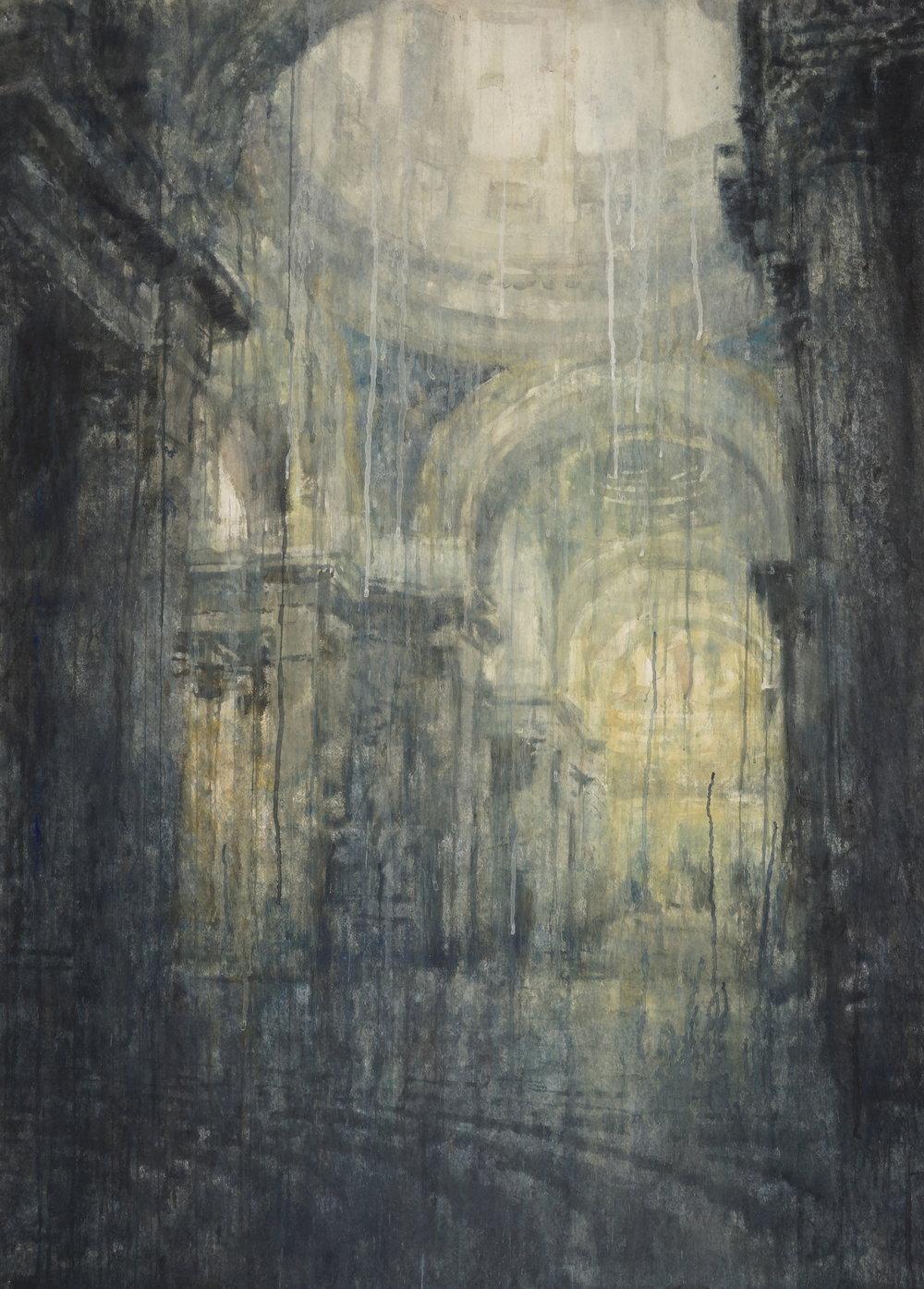 Chizuru Morii Kaplan. Pantheon, Paris II, 2017.