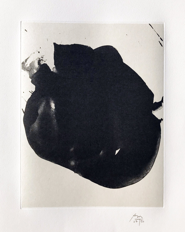 Robert Motherwell. Nocturne II, 1987.
