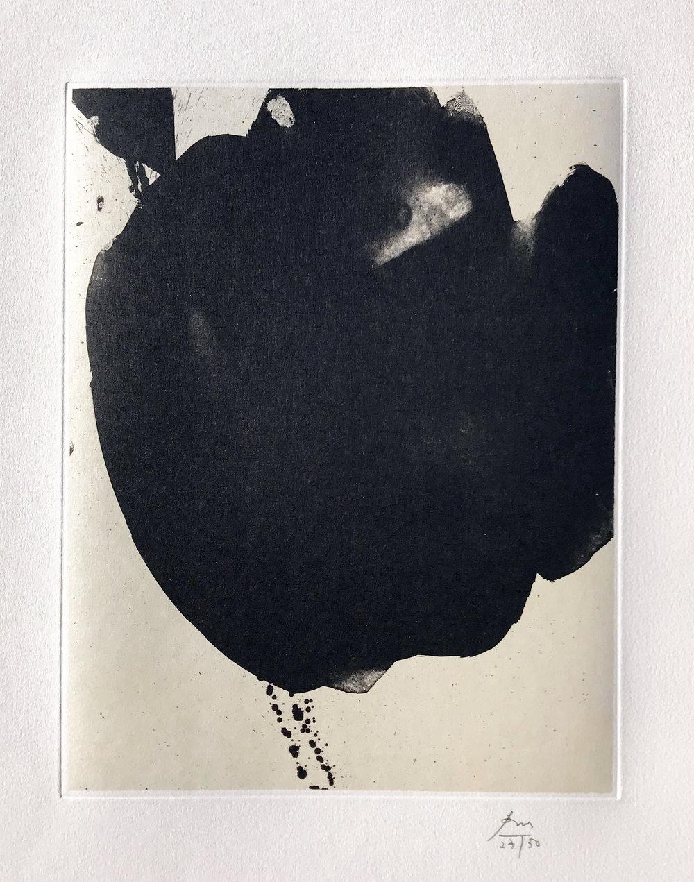 Robert Motherwell. Nocturne VI, 1987.