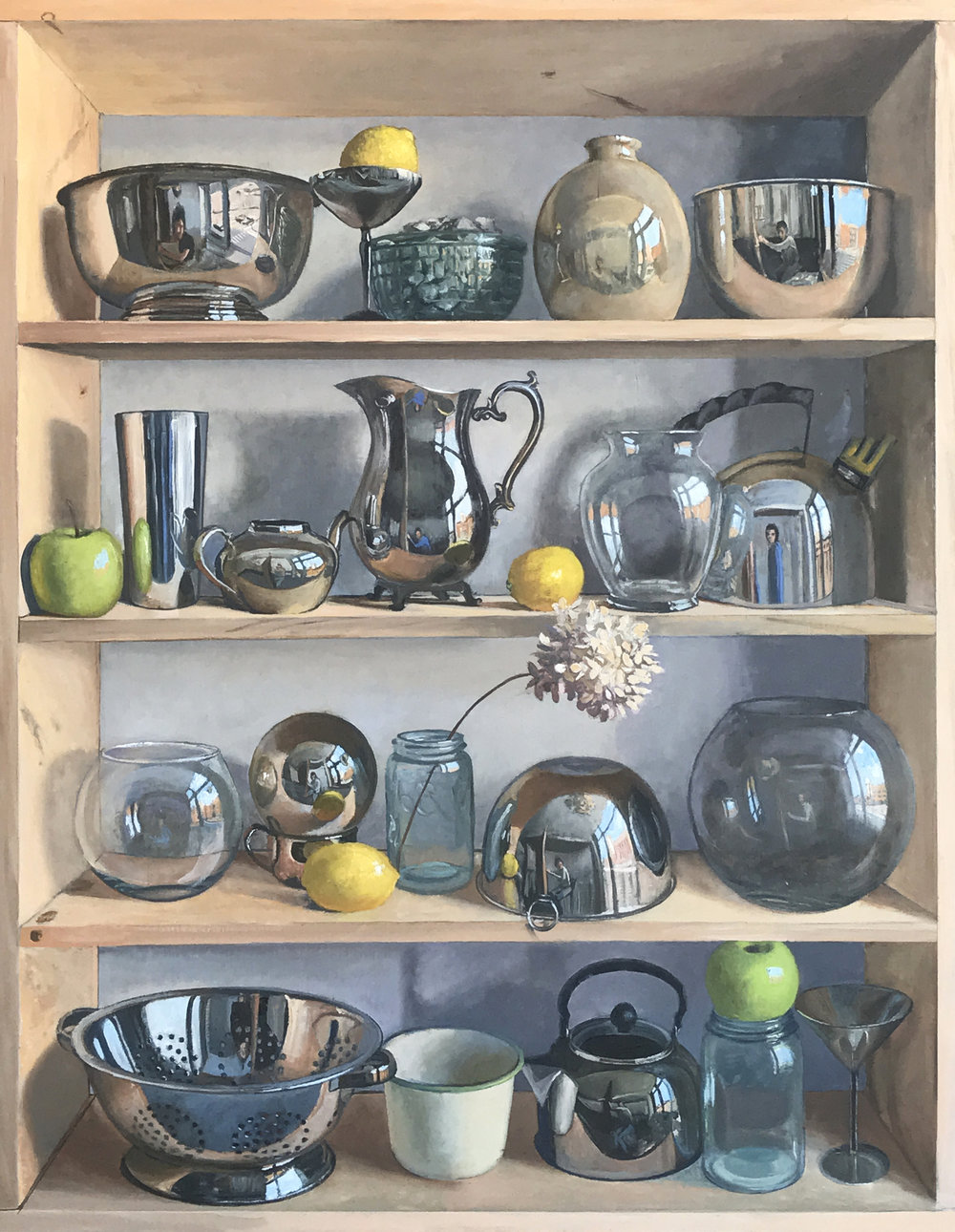Shelf Obsession, 2018. SOLD