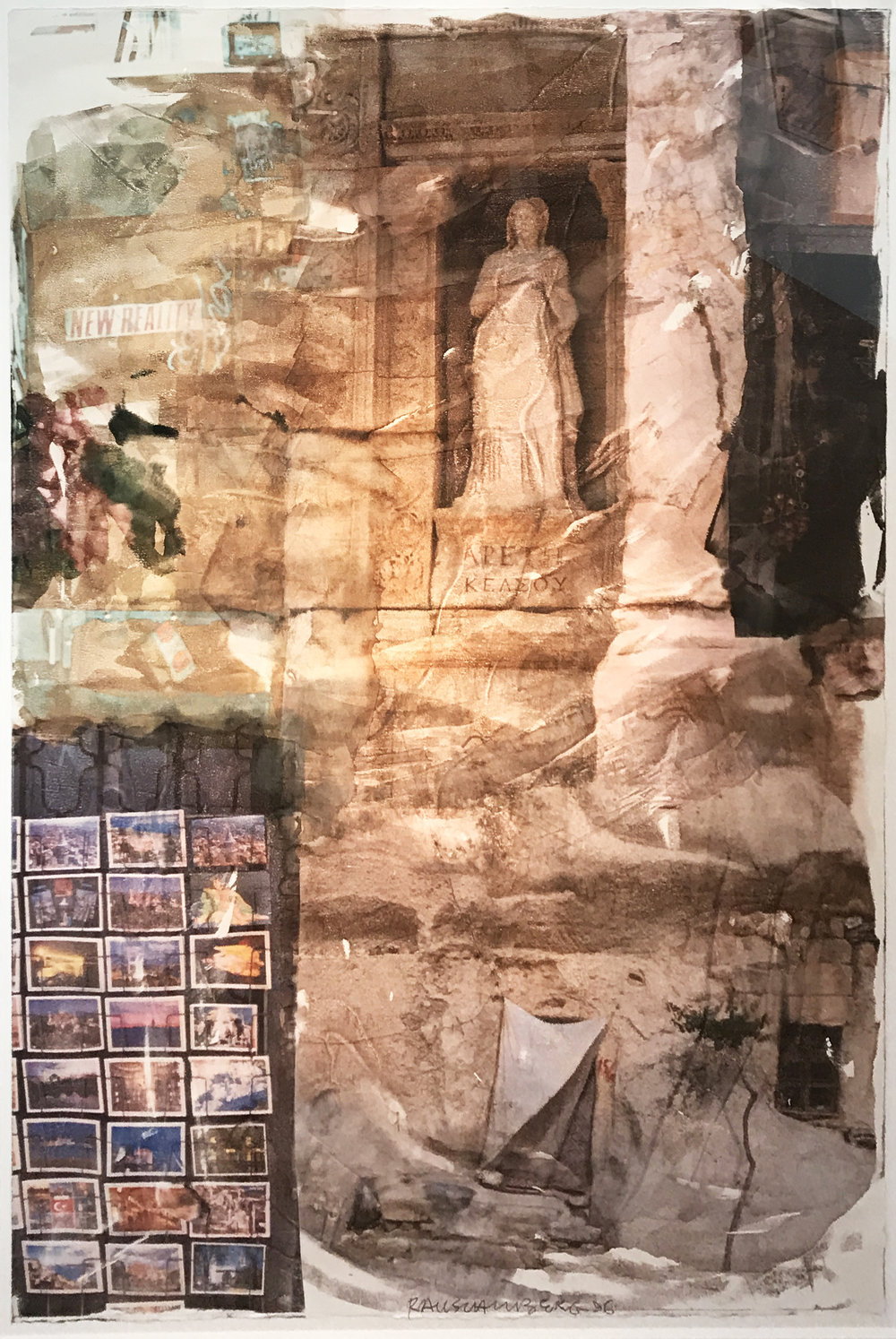 Robert Rauschenberg. New Reality (Anagrams), 1996. 96.100.
