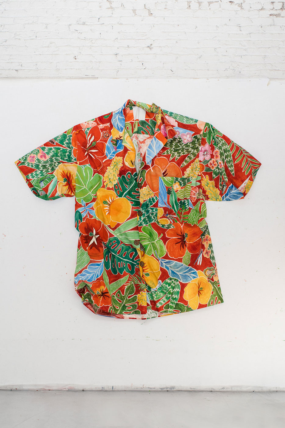 Sidney Russell. Big Wave Paradise Hawaiian Shirt, 2013.