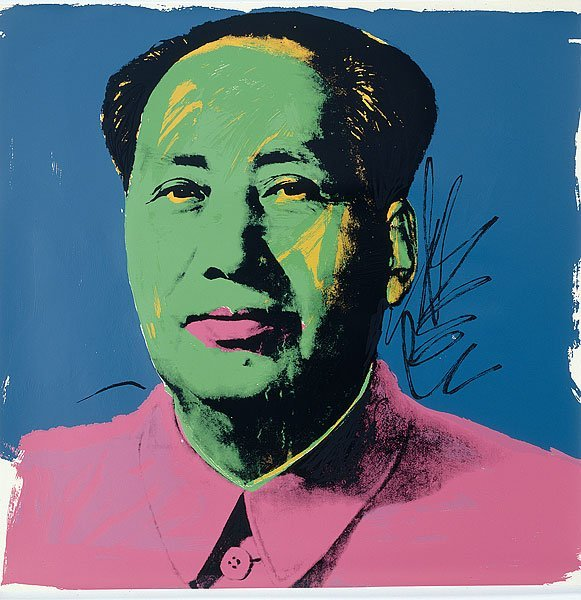 Andy Warhol. Mao, 1972.