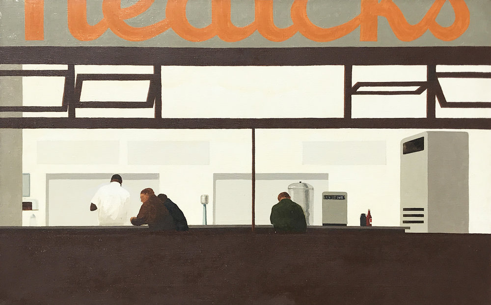 Robert Cottingham. Nedick's, 1964.