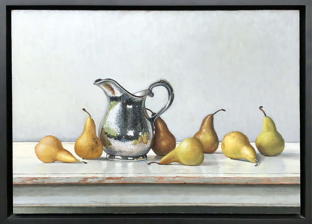 Eric Forstmann. Hammered Pitcher with Pears, 2009.