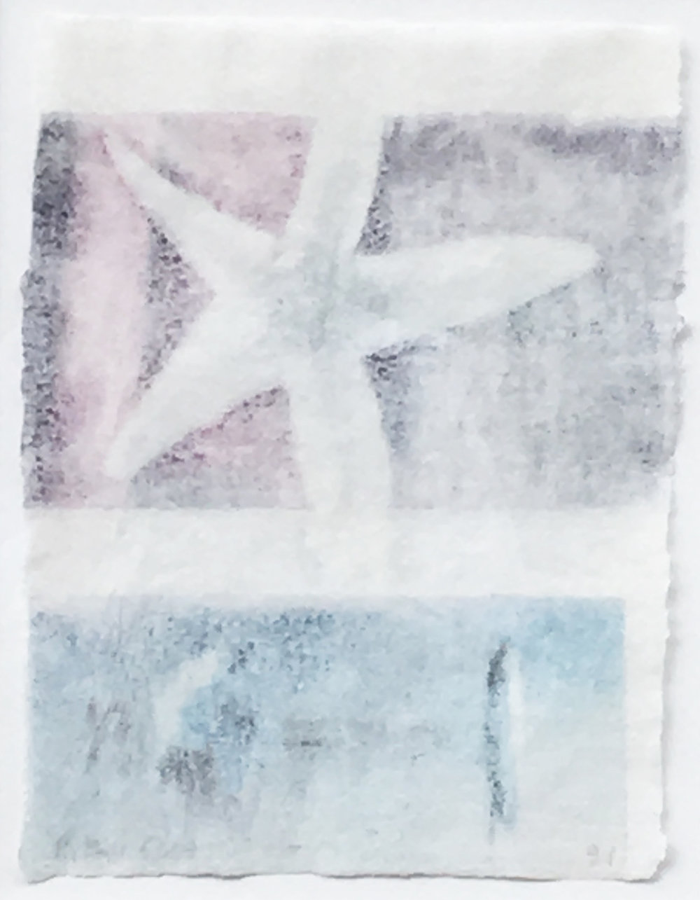 Robert Rauschenberg. Untitled (Starfish), 1991.