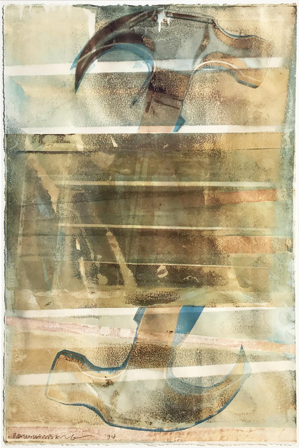 Robert Rauschenberg. Bang-Bang (Waterworks), 1994.
