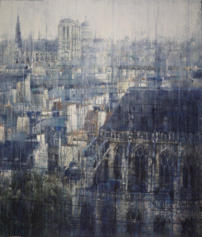 Parisian Rooftops III, 2019.