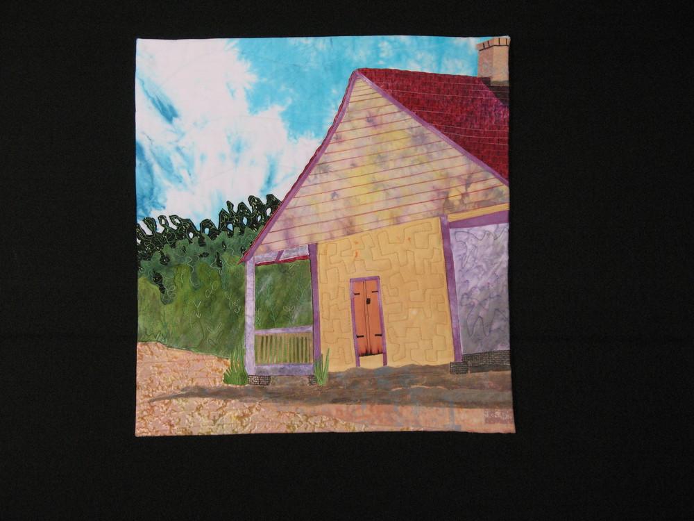 East side: De la Pointe-Krebs house