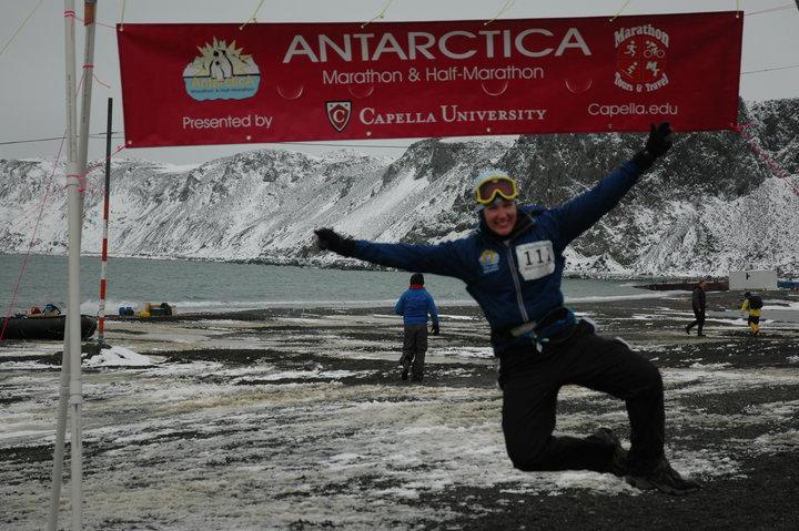 Antarctica Marathon 2007