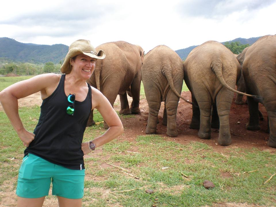 Working at an Elephant Sanctuary in Thailand