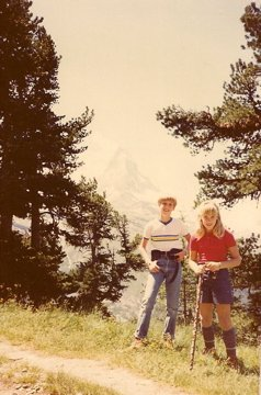 My brother and I at the Matterhorn