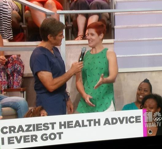 Dr Oz appearance, August 2015