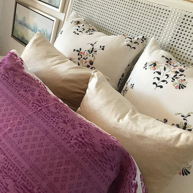 New pillows to brighten up your bedrooms, from $36-$40 each!