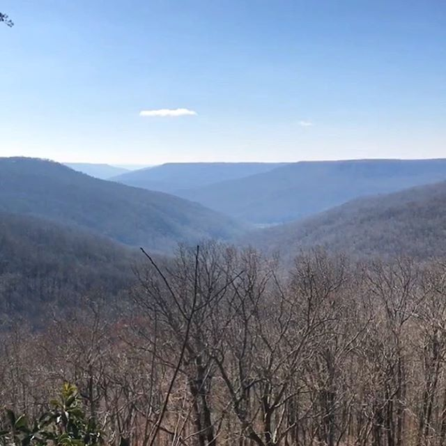 Breathtaking view during a site visit to Sewanee this morning.  So excited for this project!