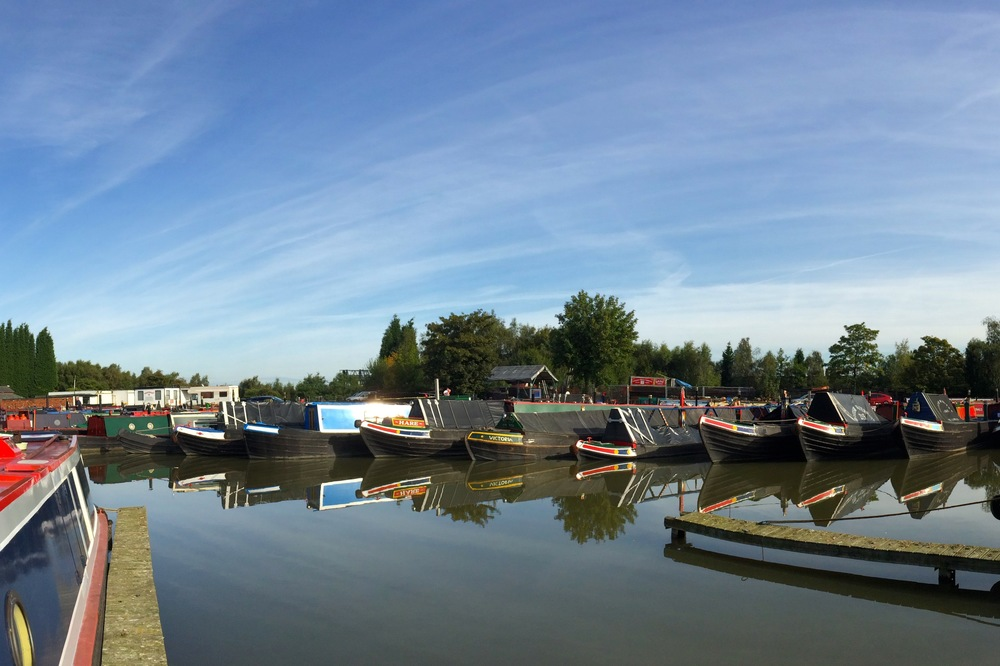 Moorings at Alvecote Marina