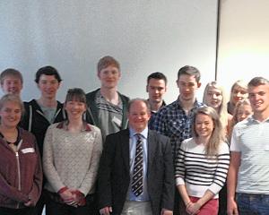 Dr Parratt and the Representation Team