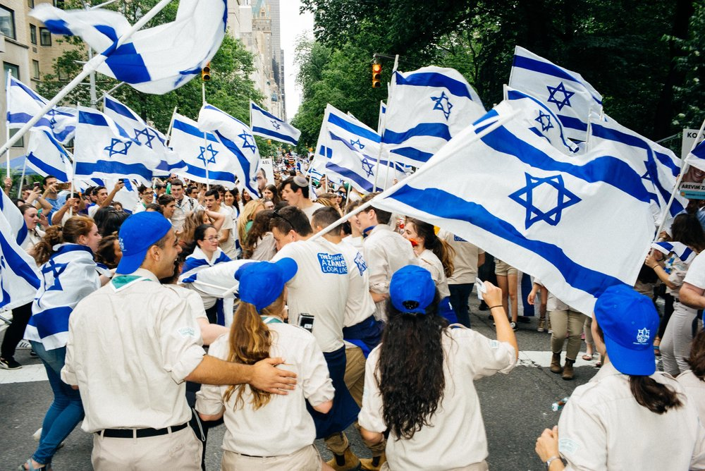 Israeli Day Parade 2017 for The New York Times