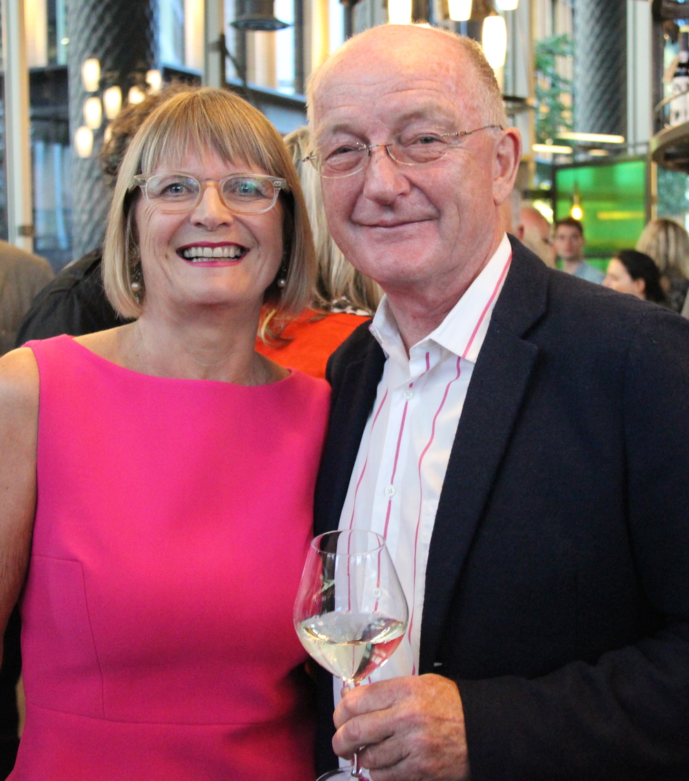 Jancis with Oz Clarke