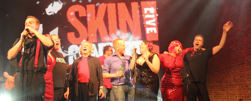 The finale of Skin Côntact LIVE, March.