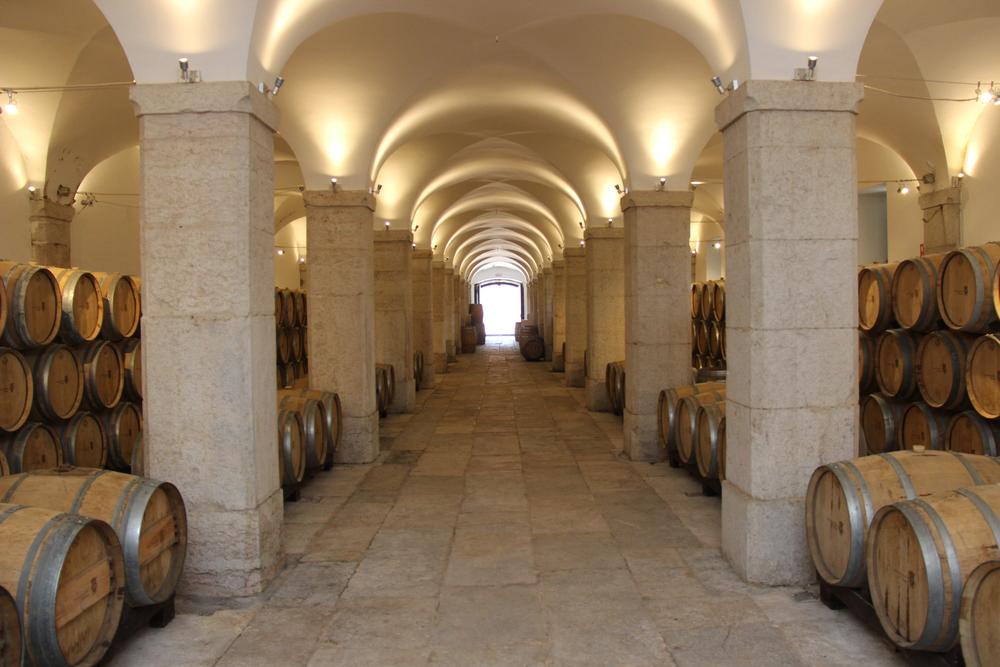 Villa Oeiras cellar, Carcavelos