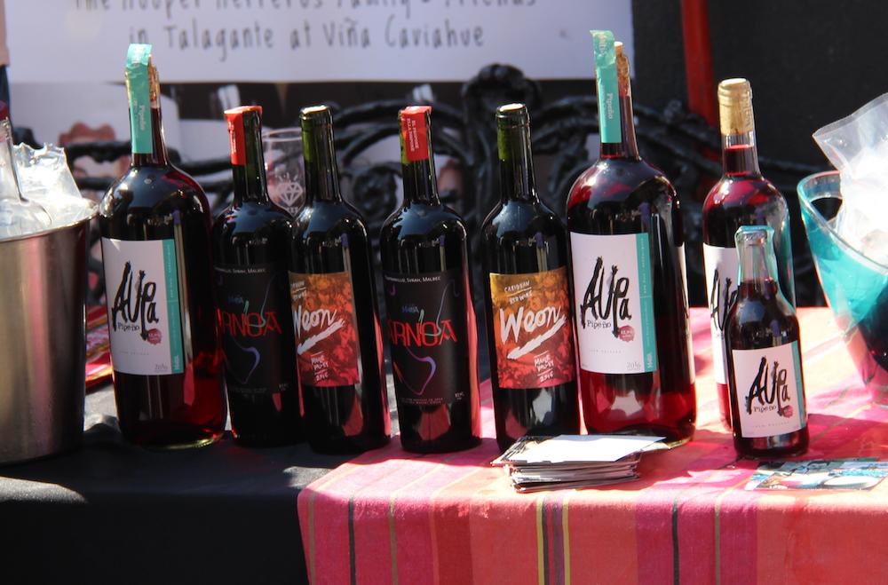 Funky Chilean wine
