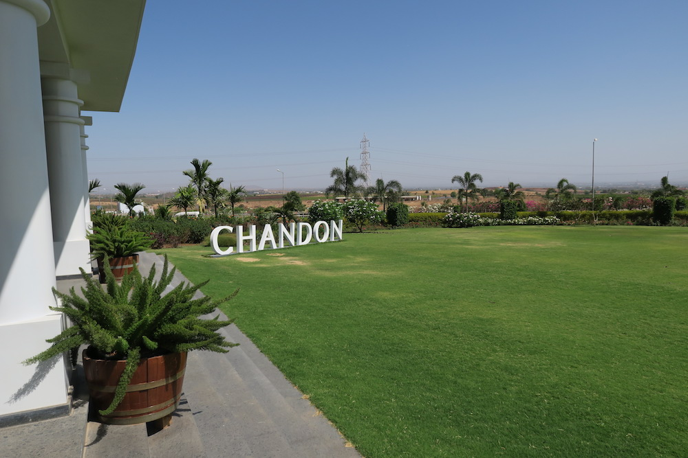 Chandon India sign.JPG