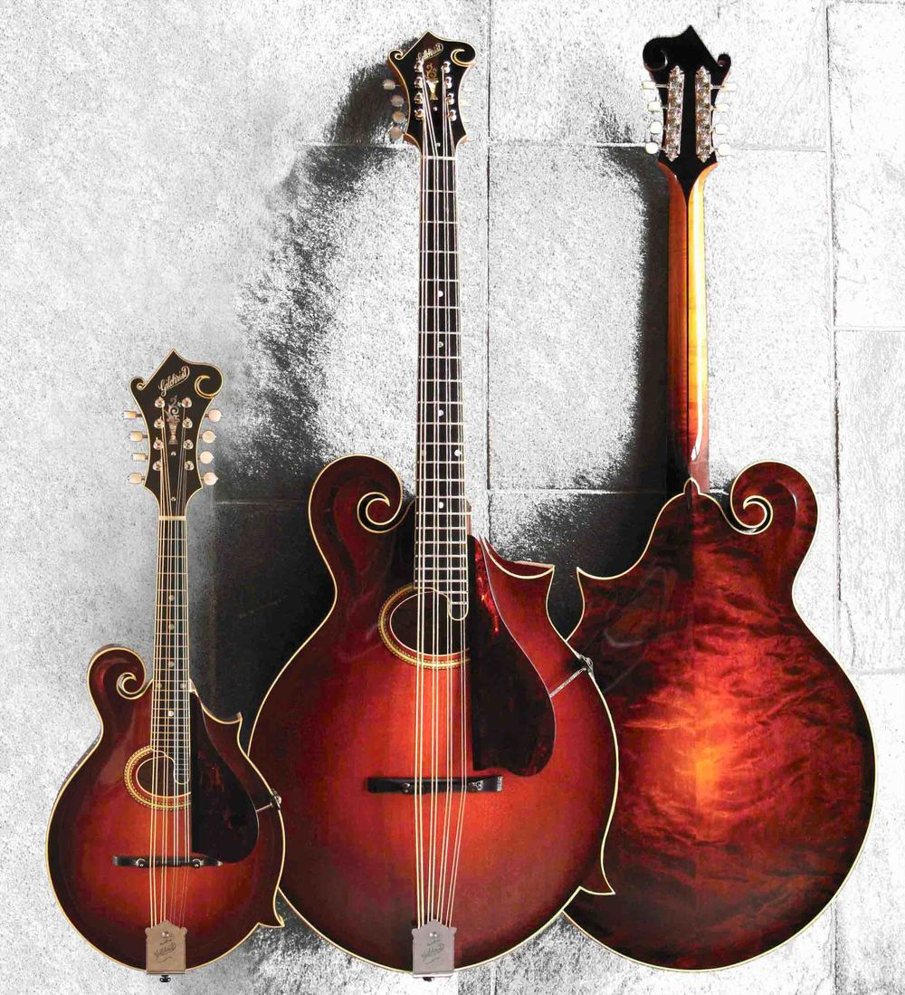 Model 4 mando-cello . . . with Mod. 4 mandolin