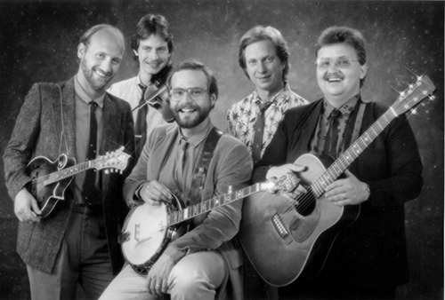 NashvilleBluegrass Band, circa 1987  Photo courtesy    NBB