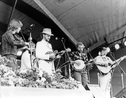Nashville Bluegrass Band, circa 1985   Photo courtesy    NBB