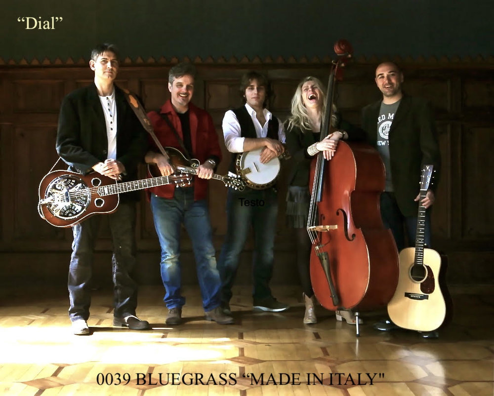 Giovanni Stefanini and  0039 Bluegrass Band  Photo: Stefano Goldberg