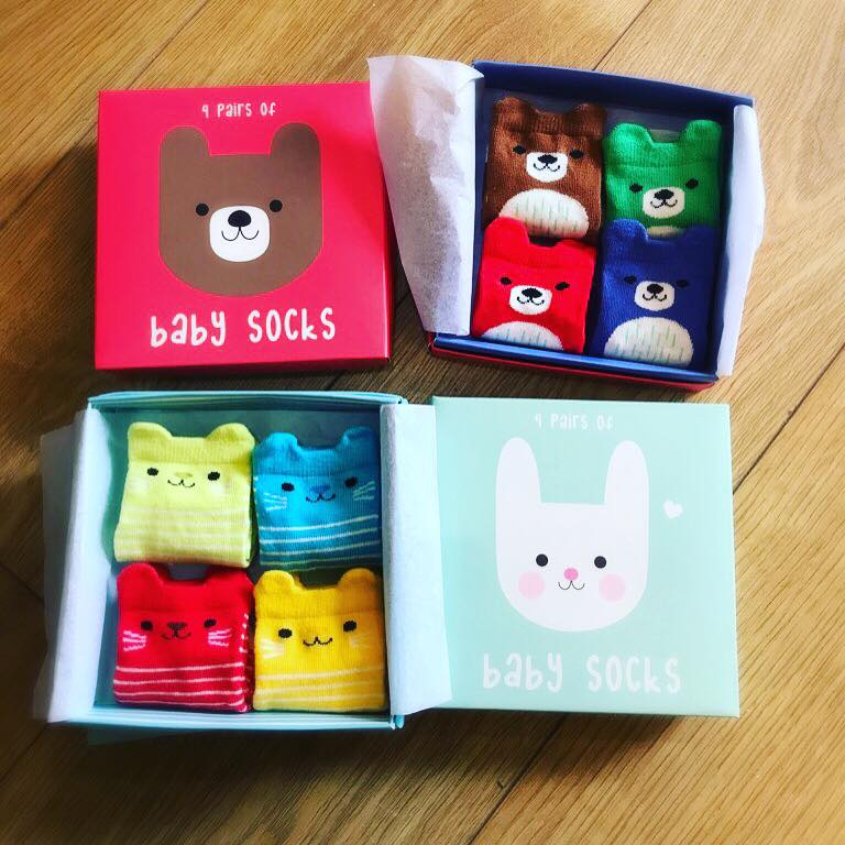 Just how cute are these gorgeous little baby sock sets? They'll make a perfect new baby gift. - #babysocks #cute #babystuff