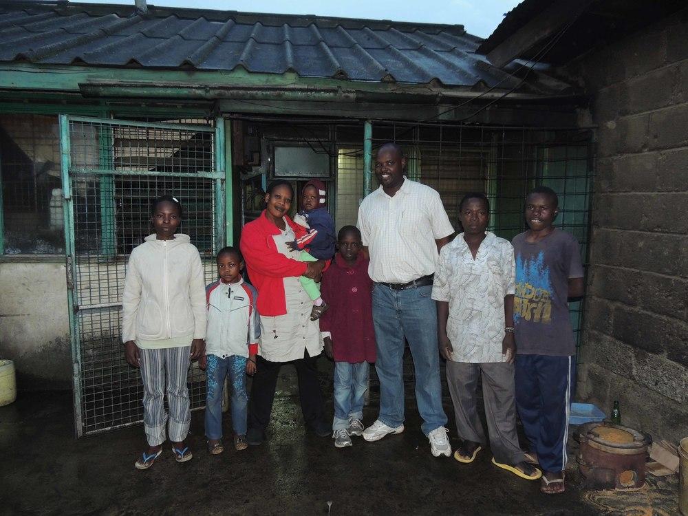 Pastor Solomon & family