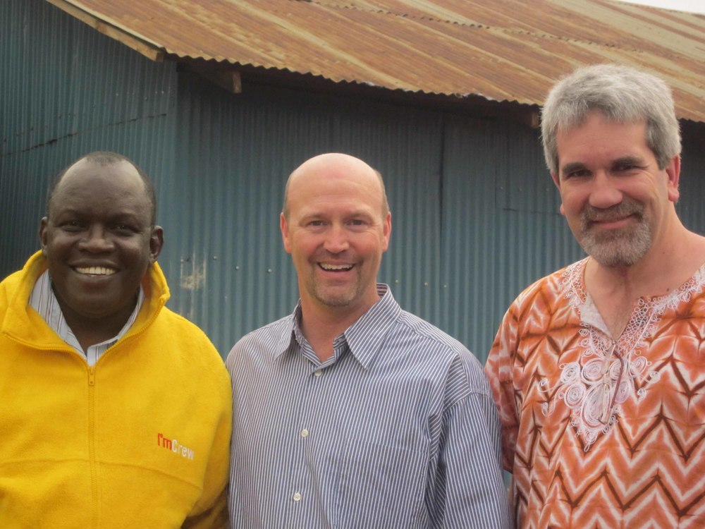 Francis - Kenya, Randy - USA and Dave - Canada