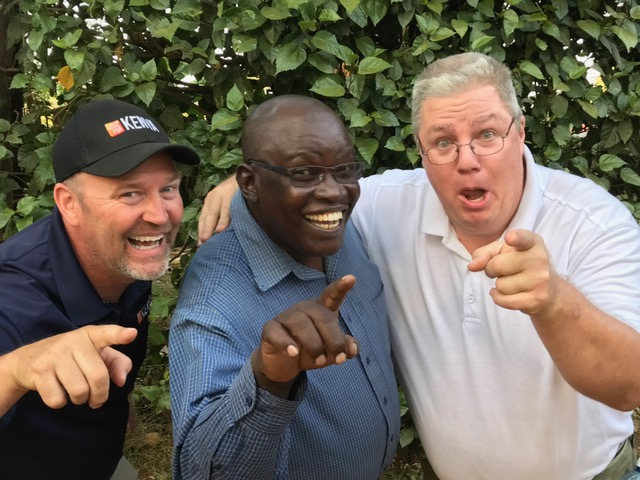 30 years ago in Germany at BODENSEEHOF Bible college, these three clowns met! God is now using them to serve with the Love For Kenya ministry! Praise God!