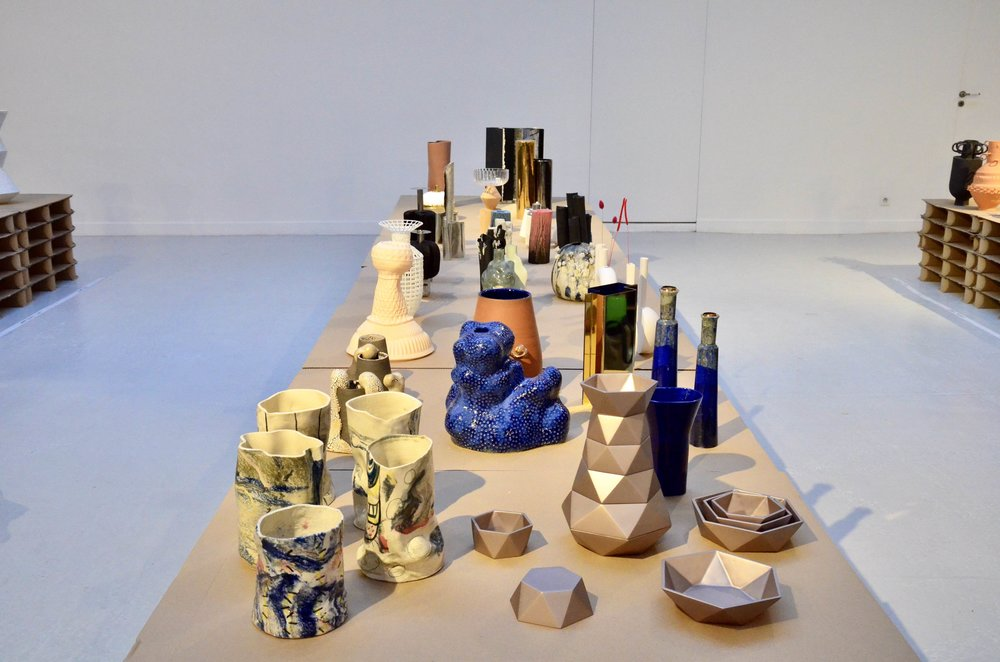 1000 Vases - Paris Design Week -Espace Commines