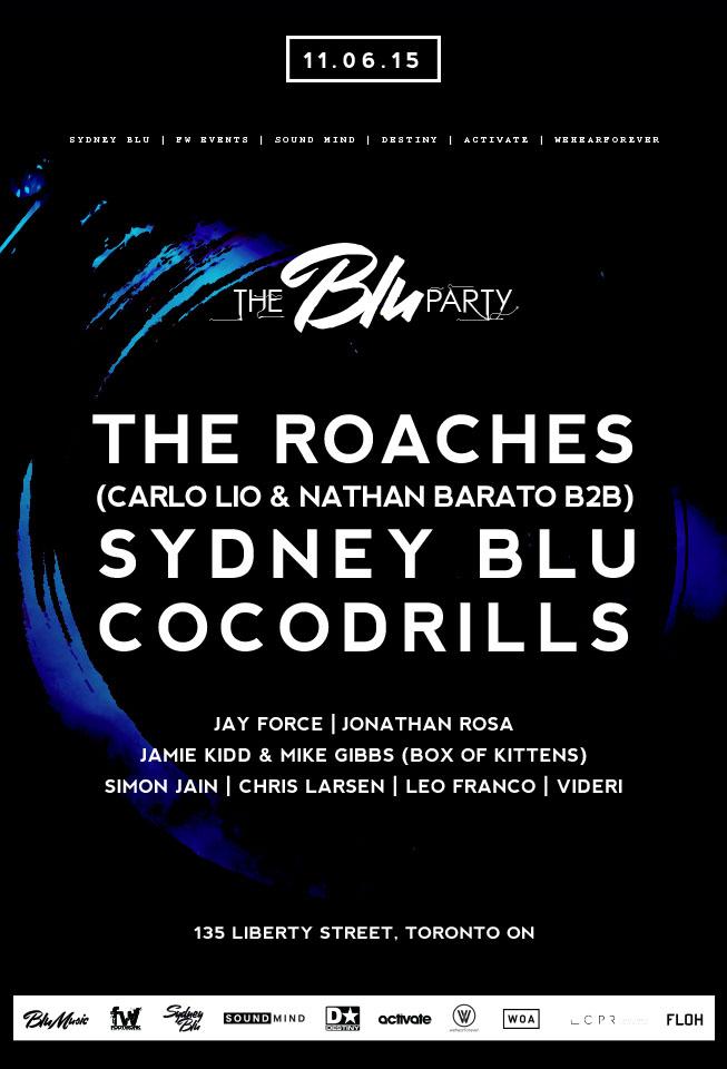 The Blu Party - Toronto Premiere