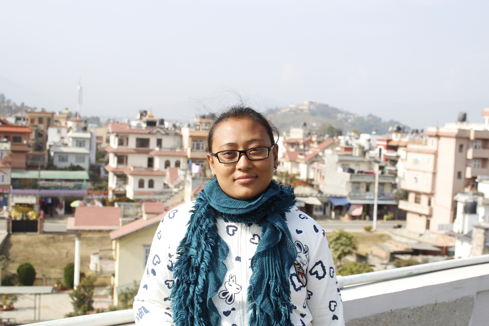 'Giving back is a key element to maintain peace and harmony in world. Some of us (Nepalese) were lucky enough that we not just survived but we were also safe and our home was intact, which is not the case for most of the earthquake affected people. Reaching them and helping them is a way to give thanks for the second life I have got.'
