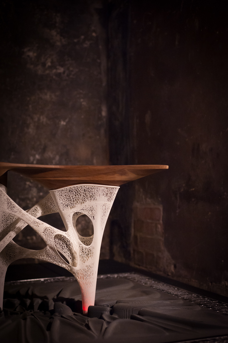 3d Printed Table Aleksa Studio