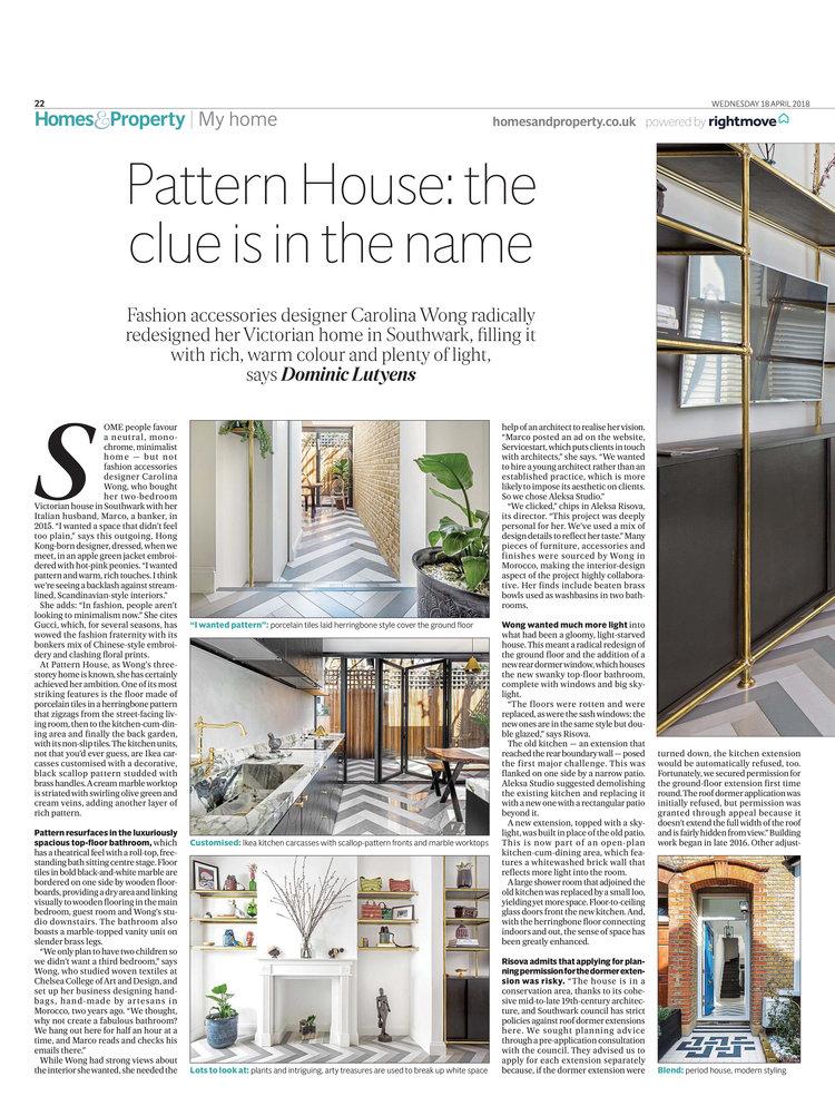 Pattern House — ALEKSA studio