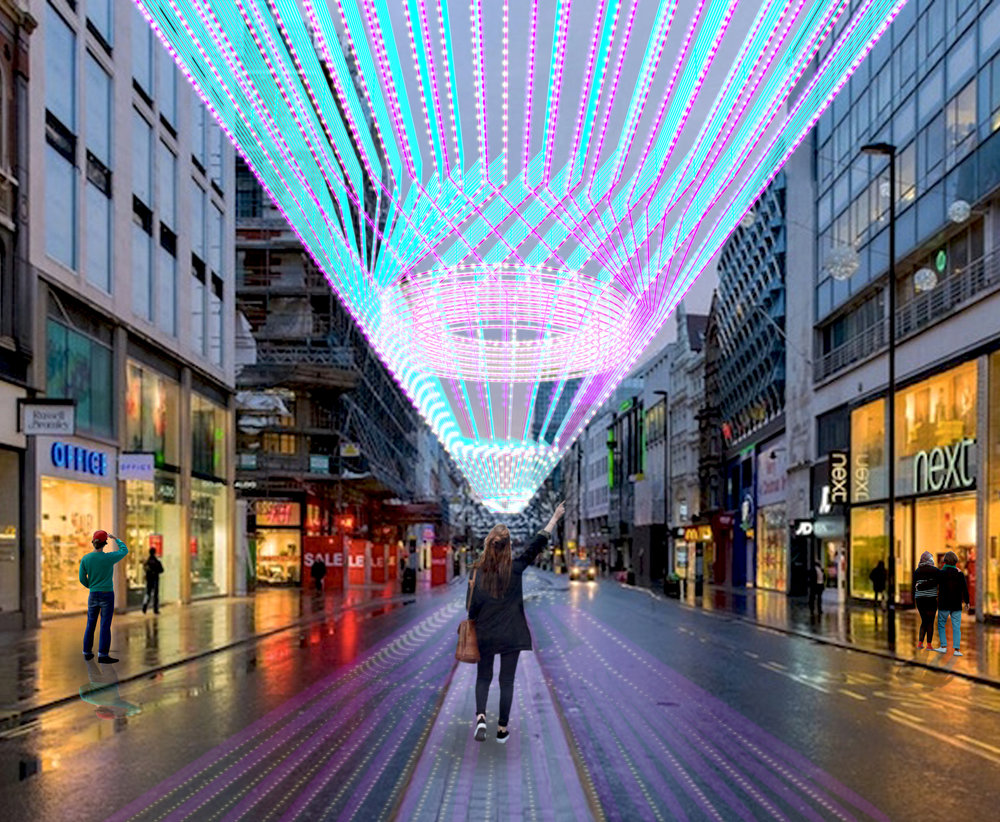 ALEKSA studio_Oxford Street Lighting Concept