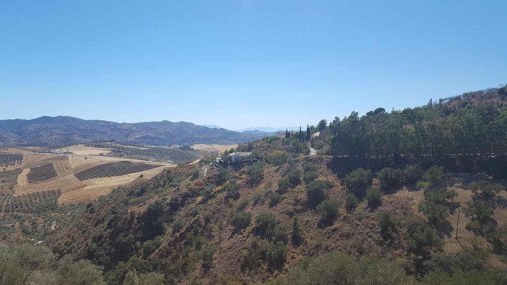 The lovely Andalusien mountains