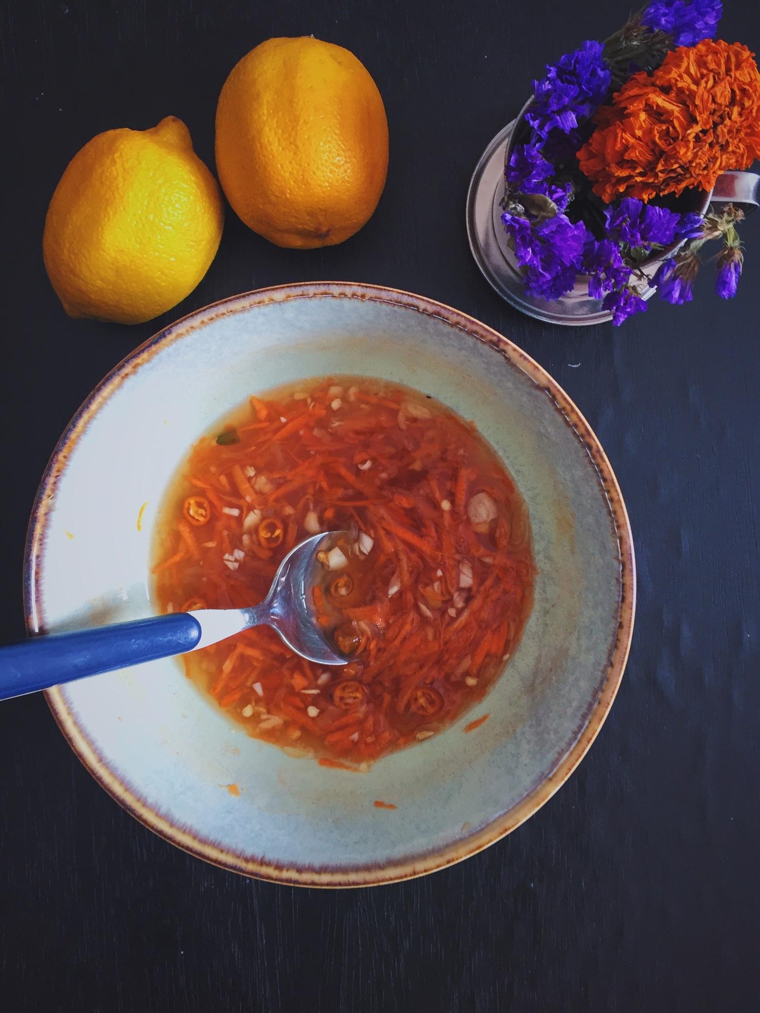 Vietnamese Dipping Fish Sauce