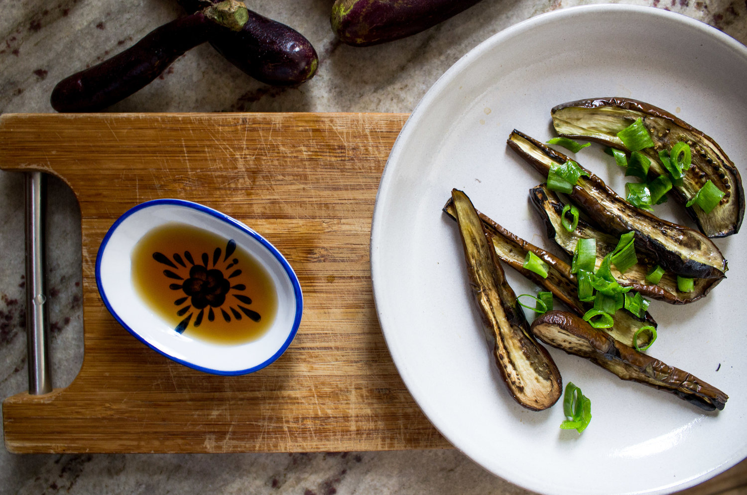 Roasted Eggplant with Fish Sauce