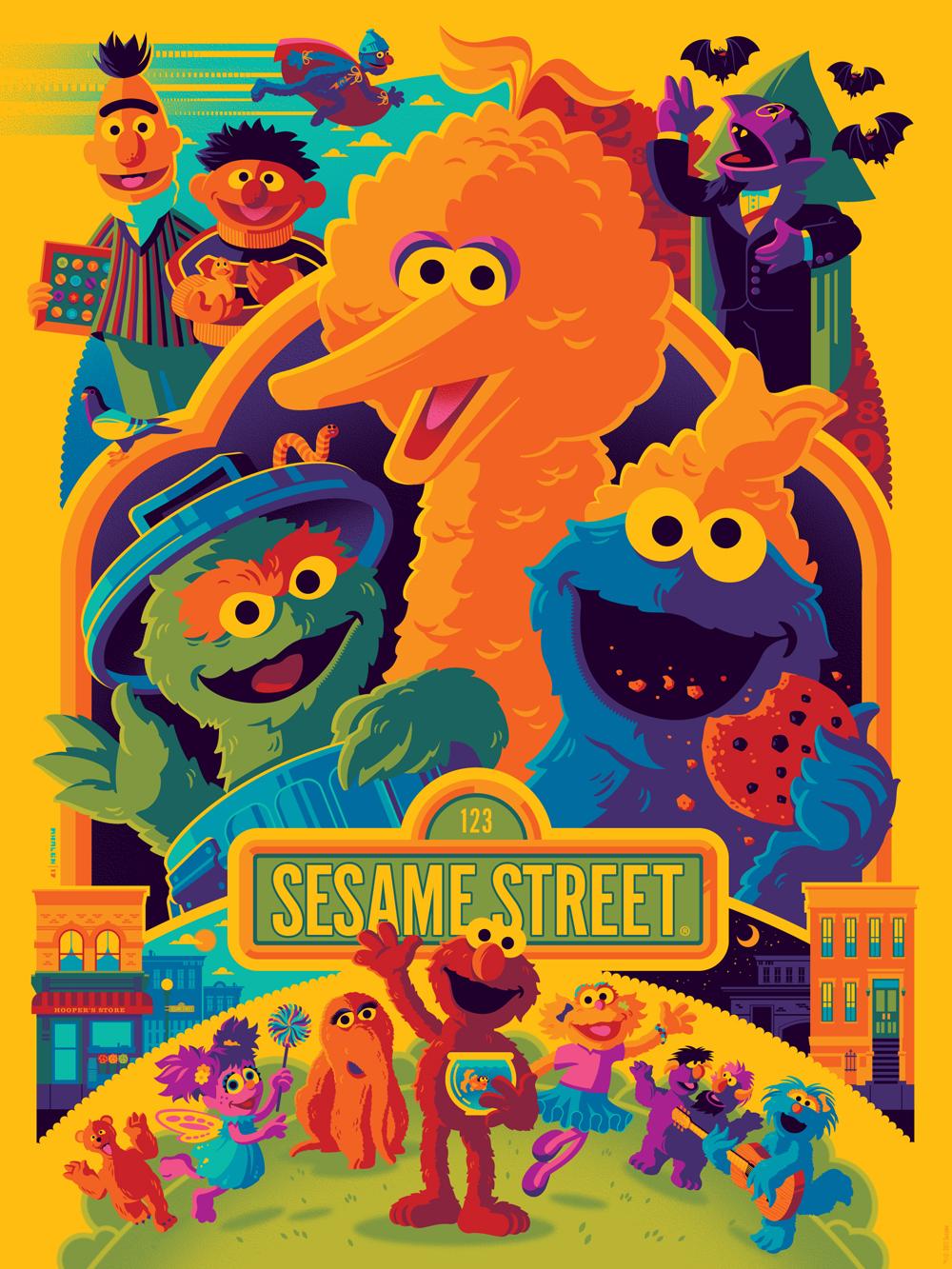 sesame street strongstuff